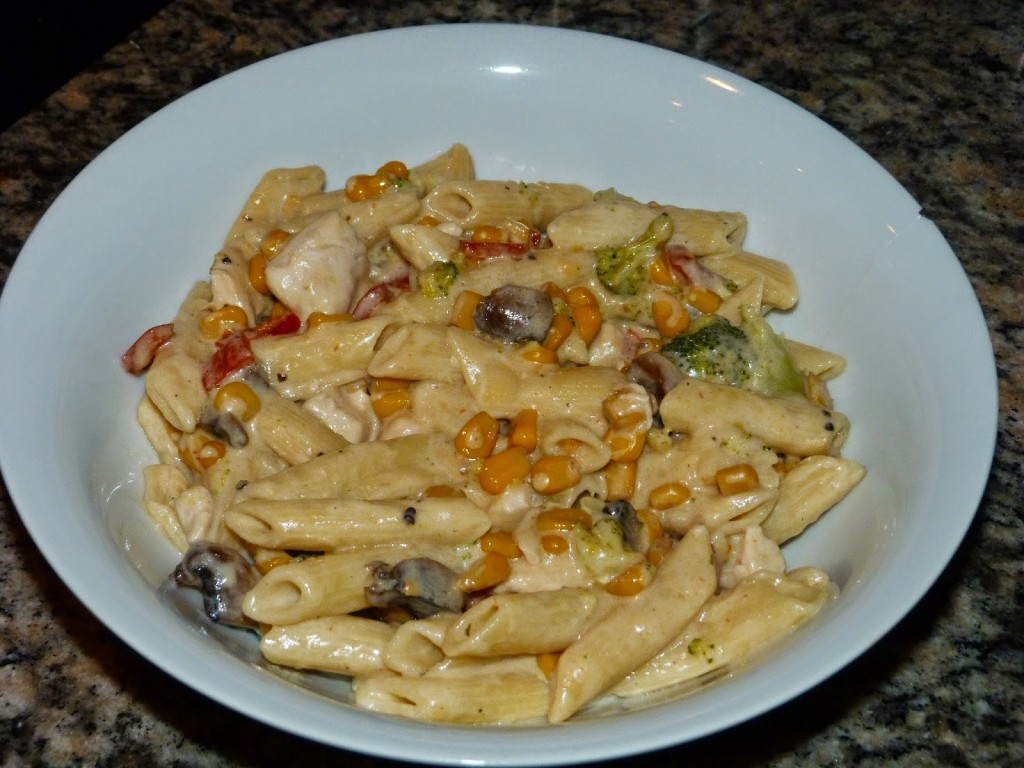 philadelphia chicken pasta